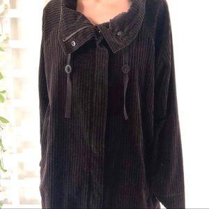 Eileen Fisher Organic Cotton Corduroy Anorak NWT